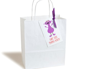 Personalised Monster Party Bag - Pack of 6