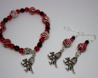 Dragon jewelry set