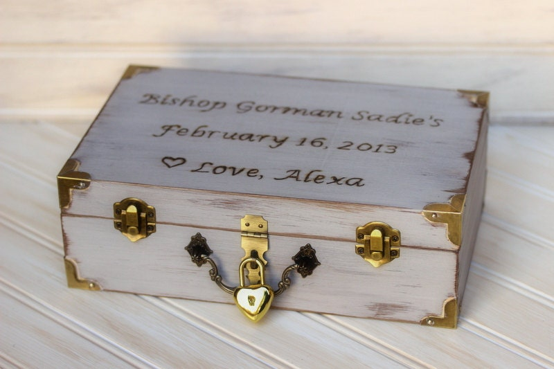 personalized childs memory keepsake box baby s time