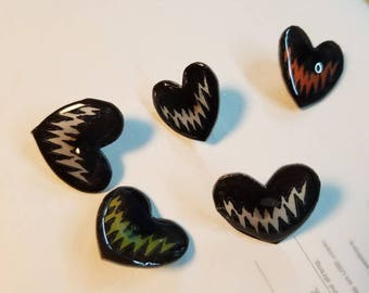 Creep heart pin