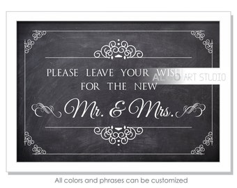 Chalkboard Wedding Sign, Printable Wedding Sign, Wedding Love Story, Printable Sign, Wedding Decor, DIY Download and Print, Instant Download