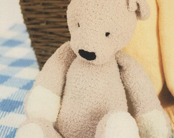 Sirdar (1245) Ted the Bear Toy Knitting Pattern