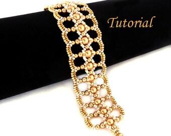 Tutorial Let It Shine Bracelet - Beading Pattern