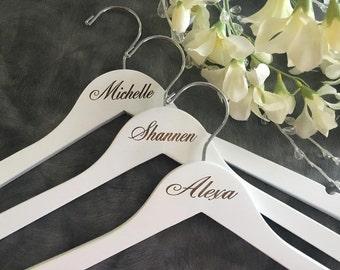 Set of 14 Laser Engraved Hanger/Laser Engraved Doctor Hanger/Doctor/Dr. Hanger /Doctor Gift / Dr.  gift/Engraved hanger