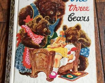 1948 Little Golden Book The Three Bears