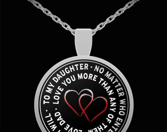 No matter who enters your life - necklace