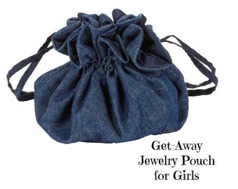 Get-Away Jewelry Pouch for Girls