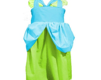 Drizella Cinderella Step Sister Inspired Girls, Toddler, Baby, and Infant Play Dress