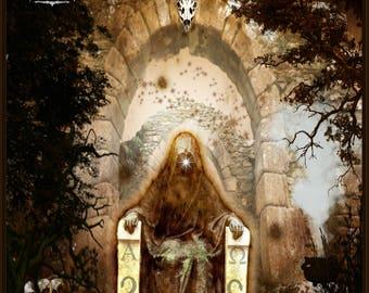 THE HIGH PRIESTESS Giclee Art Print