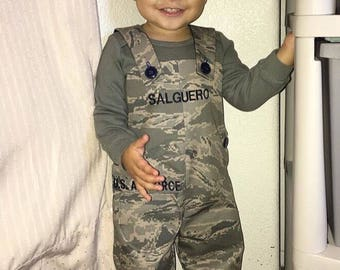 Military Kids Romper - Army, Marines, Air Force, Coast Guard
