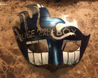 Quick view. Tardis mask. ColorfulCraftyCustom & Tardis costume | Etsy