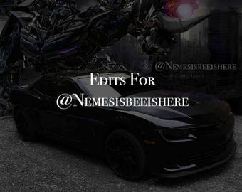 Edits for @NemesisBeeIsHere