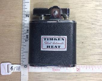 Vintage Ronson Whirlwind Lighter Timken Silent Automatic Heat Untested Used