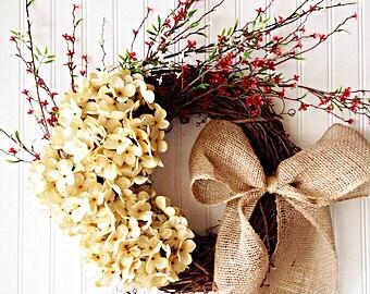 farmhouse christmas wreath, christmas wreath, farmhouse decor, wreath for christmas, door wreath, front door wreath, holiday wreath