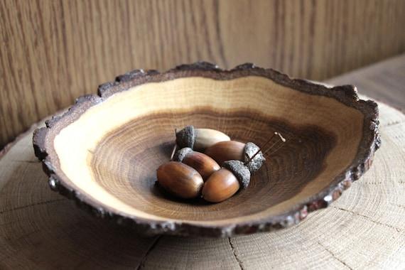 & wooden bowl natural art wood slice art wooden dishes oak