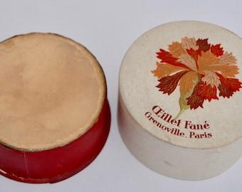 Unopened Vintage Oeillet Fané Grenoville Paris Poudre de Riz/Face Powder - Rachel No.2