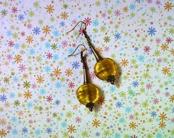 Yellow Earrings (2018)