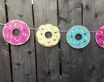 Donut Garland, Donut Banner