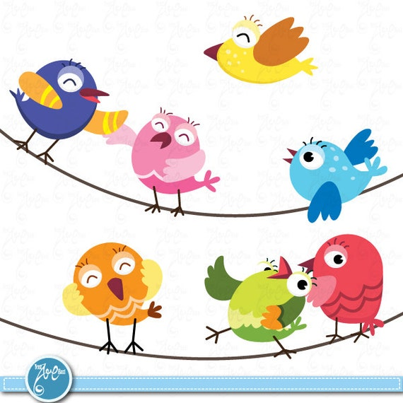 birds clip art cute baby birds birds design element perfect rh etsy com baby girl bird clipart cute baby bird clipart