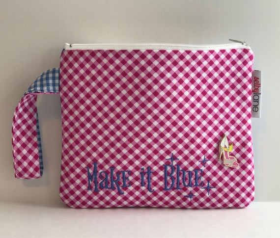 Make it Pink/Blue  Disney Wristlet