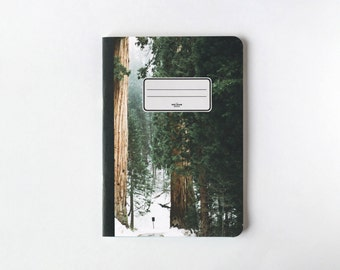 Oaks Notebook - Journal - Sketchbook - Blank pages - Lined pages
