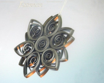 Custom Made Quilled Christmas Tree Decorations