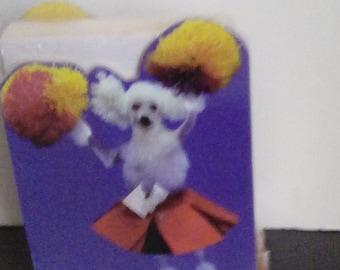 Poodle Cheer Notepad Set Sealed