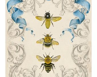 Bee's and Filigree II