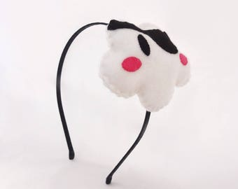 Black cloud headband pirate