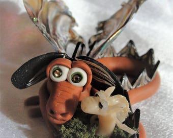 Dragon and his buddy - Elemental Dragons OOAK