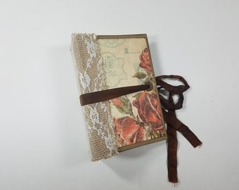 Small Hardcover Junk Journal