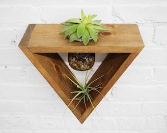 Hanging Planter, Indoor Planter, Live Succulents, Succulent Decor, Air Plant Holder, Live Air Plants, Floating Planter, Succulent Planter