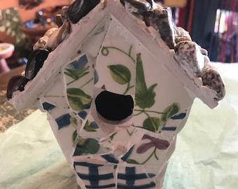 Mini Mosaic Birdhouse