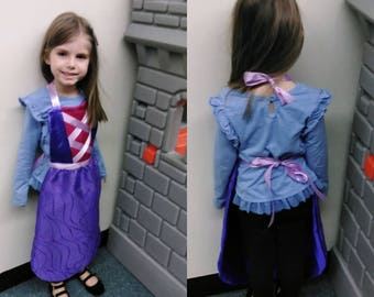 Rapunzel Princess dress up apron.