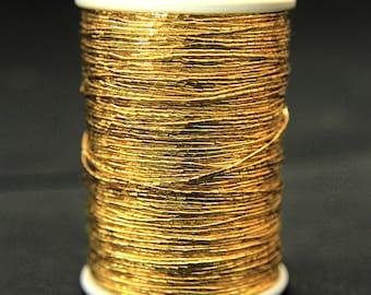 Japan Metallic Gold Colour Thread (125Mtr/Spool)
