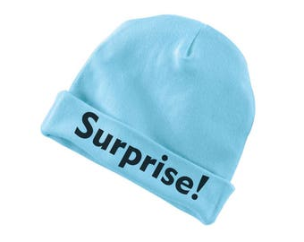 Surprise Funny Cotton Beanie For Infants