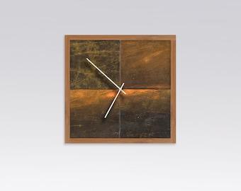 Ocean Algae Wall Clock
