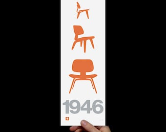 Print: Eames 1946 Screenprint Art Print (Prints & Posters)