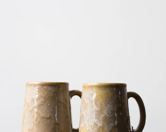 Vintage Studio Pottery Mugs