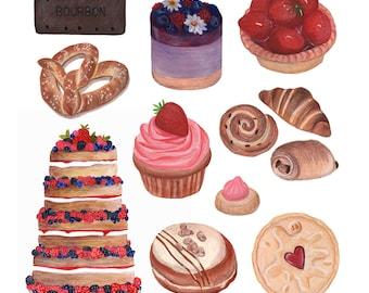 Bake off inspired print