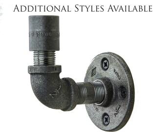Industrial Hook | Iron Pipe Hook | Industrial Pipe Hook | Coat Hook | Robe Hook | Towel Hook