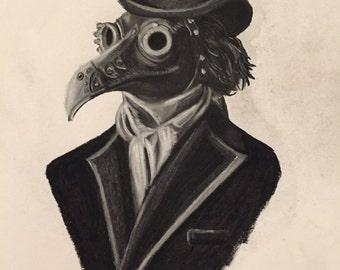 steam punk plague doctor