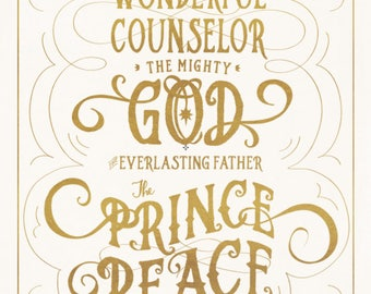 The Prince of Peace | Isaiah 9:2 Printable