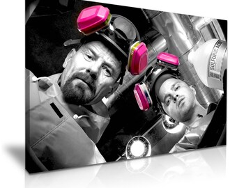 Breaking Bad TV Stretched Canvas Print 76 cm x 50 cm