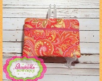 LINED 5x7 ITH Zip Pouch