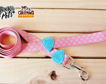 Personalized Leash Design Cotton Candy