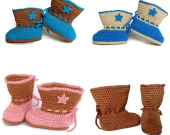 Baby cowboy boots, Baby cowgirl booties, Cowboy booties, Cowgirl boots, Baby girl, Baby boy, Baby booties, Baby cowgirl, Baby cowboy, Brown