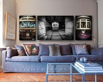 Toronto art for TTC riders - Toronto photos - Toronto streetcar - TTC art - Toronto wall art - Toronto canvas - Toronto subway art