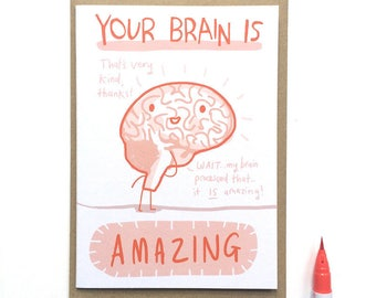 Amazing Brain Card