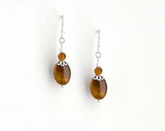 Earrings Tiger's and Silver
